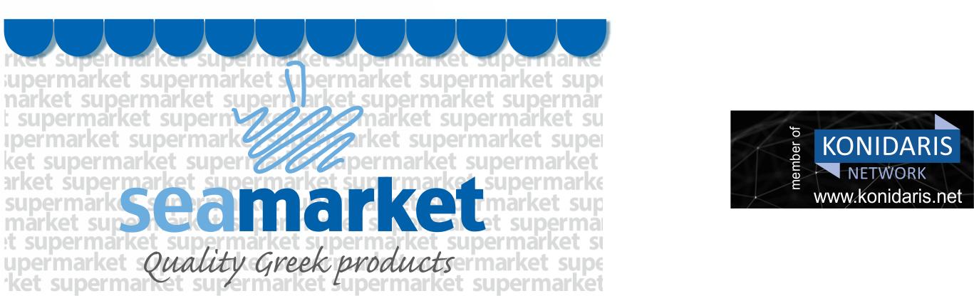 Sea Market - Τροφοδοσία Σκαφών, Δωρεάν Αποστολή, Ποικιλία Τροφίμων, Κάβα Ποτών, Φρούτα & Λαχανικά, Οικιακά Είδη, Εποχιακά, Τουριστικά.